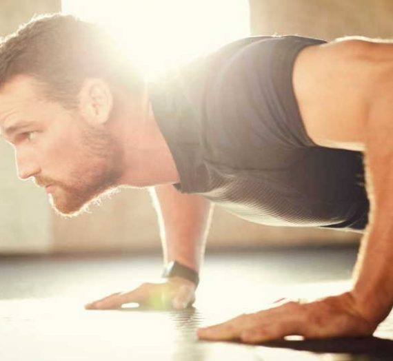 Do push-ups help in forming a mass in muscles?
