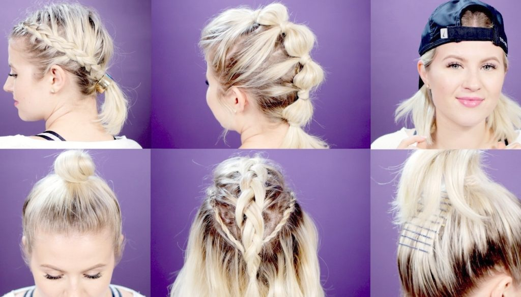 Hairstyles To Wear For A Volleyball Game2